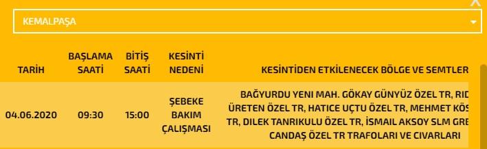 İzmir'de elektrik kesintileri yaşanacak! - Yerel - İzmir Sıcak Haber