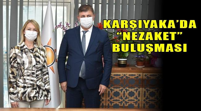 """Didem Dereboylu Keseli'ye Cemil Tugay'dan """"Hayırlı olsun"""" ziyareti"""