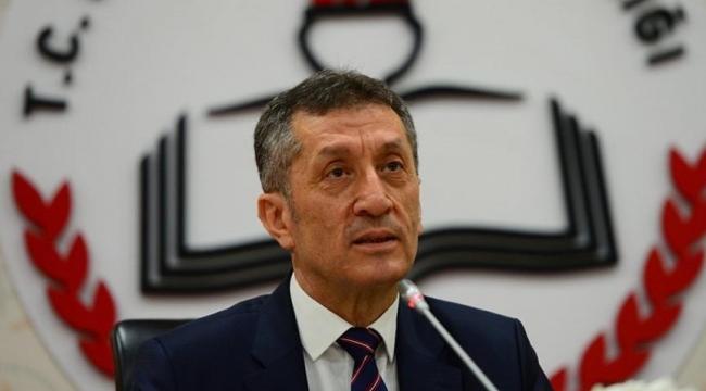 Ziya Selçuk'tan 'yüz yüze eğitim' açıklaması
